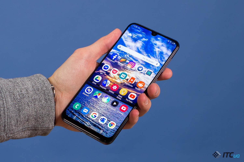 Galaxy A50 дизайн