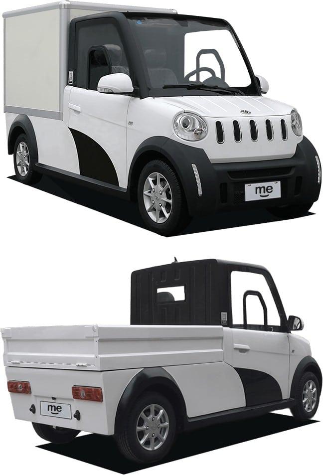 Siticars Me - двухместный электрический сити-кар с мощностью 10 л.с., батареей 10 кВтч и запасом хода 150 км по цене от $10,000