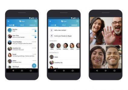 Ошибка в Skype для Android приводит к автоматическим ответам на входящие вызовы