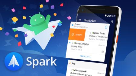 Почтовый клиент Spark вышел и на платформе Android