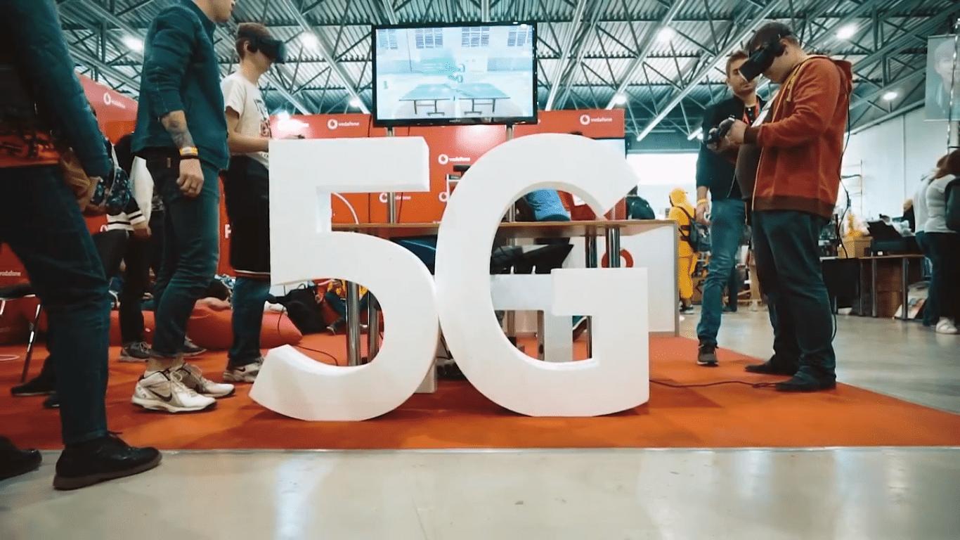 Vodafone и Nokia провели публичную демонстрацию 5G в Украине
