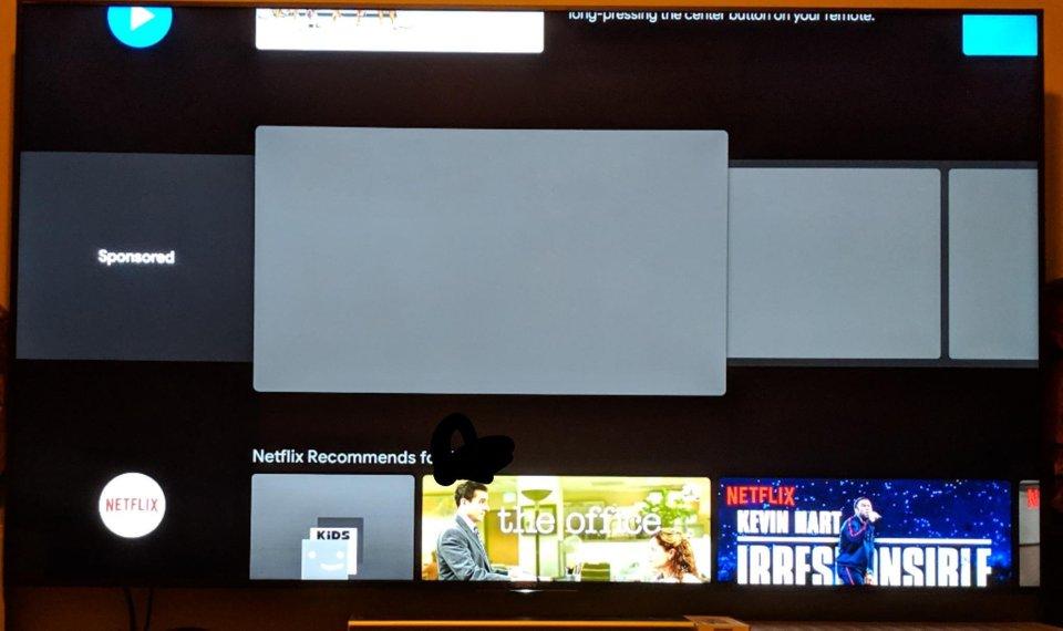 Google начала демонстрировать рекламу нателевизорах иплеерах с андроид TV