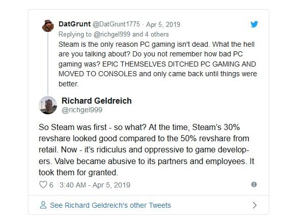 Бывший разработчик Valve заявил, что «Steam убивает ПК гейминг» из-за высоких отчислений
