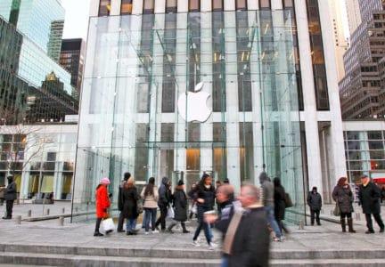 Самый известный магазин Apple на Пятой авеню в Нью-Йорке облюбовали… постельные клопы