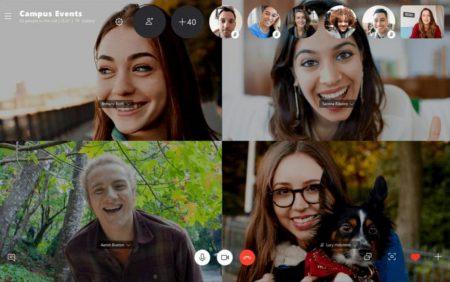 Skype вдвое увеличил предельное количество участников групповых видеозвонков — до 50 человек