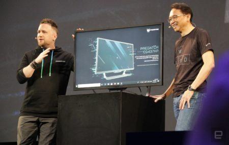 Acer подготовила 43-дюймовый игровой 4K-монитор Predator CG437K P по цене $1300