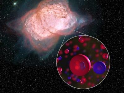 Астрофизики впервые увидели в космосе первую молекулу. Это открытие подтверждает современные представления о ранних этапах развития Вселенной
