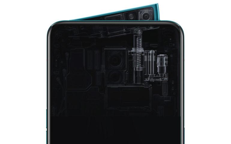 Oppo анонсировала флагманский смартфон Reno с выдвижной селфи-камерой и 10-кратным гибридным зумом в основной камере