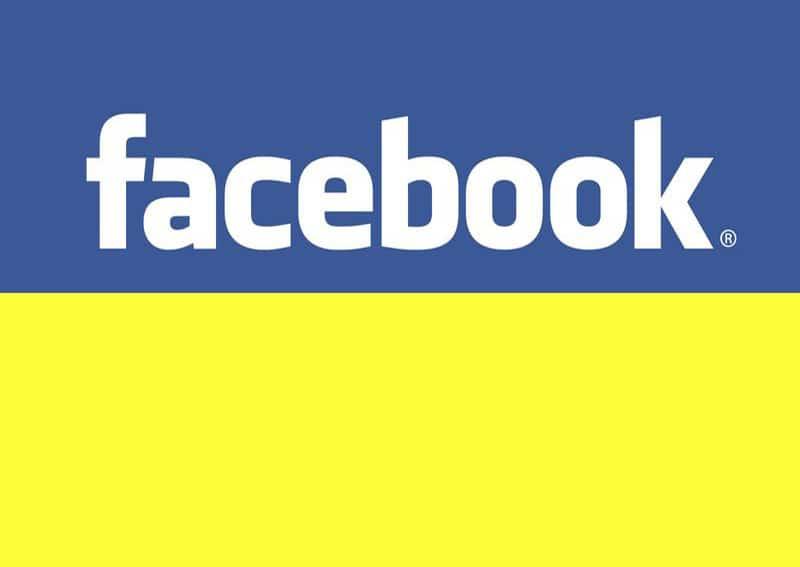 Инфографика Facebook ко второму туру президентских выборов в Украине