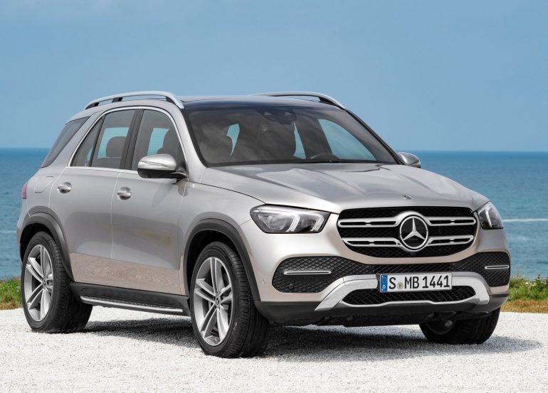 Новый Mercedes GLE: 245-367 л.с., «пневма» и 48 вольт, 7-местный салон – от 1,69 млн. грн.