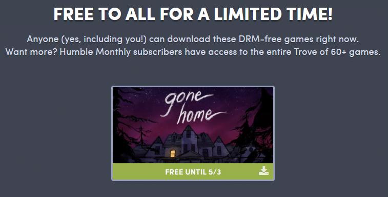 В Humble Bundle бесплатно раздают квест Gone Home