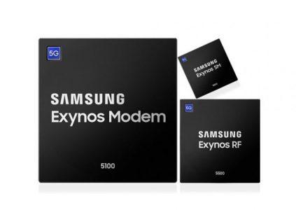 Samsung начала массовое производство модемов 5G, а Apple собрала команду из более 1000 инженеров для разработки собственного 5G-модема