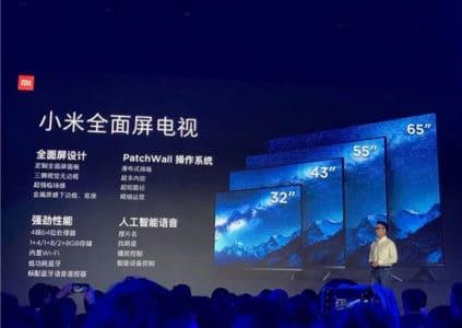 Xiaomi выпустила пять новых телевизоров Mi TV, включая ультратонкий Mi Mural TV
