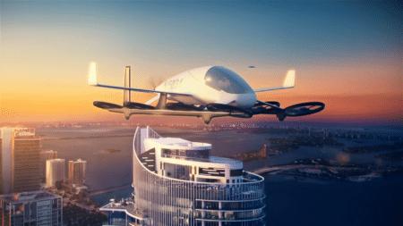 Американские архитекторы разместят «воздушную гавань» для летающих автомобилей на крыше одного из строящихся небоскребов