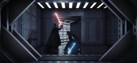 Энтузиасты FXitinPost осовременили битву Оби-Вана Кеноби и Дарт Вейдера