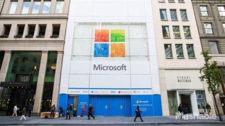 В самом «сердце» Лондона. 11 июля Microsoft откроет свой первый фирменный магазин в Европе (трехэтажный, площадью 2040 кв. м)