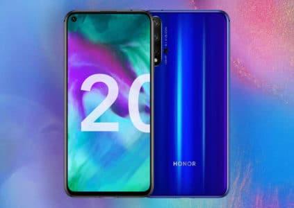 Представлены смартфоны Honor 20 и Honor 20 Pro с четырёхмодульными камерами и SoC Kirin 980