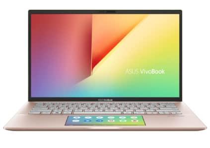Анонсированы ноутбуки ASUS VivoBook S14 и S15 с улучшенным вспомогательным сенсорным дисплеем ScreenPad 2.0