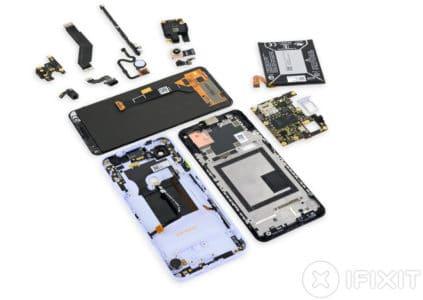 Смартфоны Google Pixel 3a удивили специалистов iFixit своей ремонтопригодностью