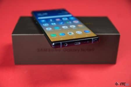 Не ждите в смартфоне Samsung Galaxy Note10 разъема 3,5 мм и привычных физических кнопок