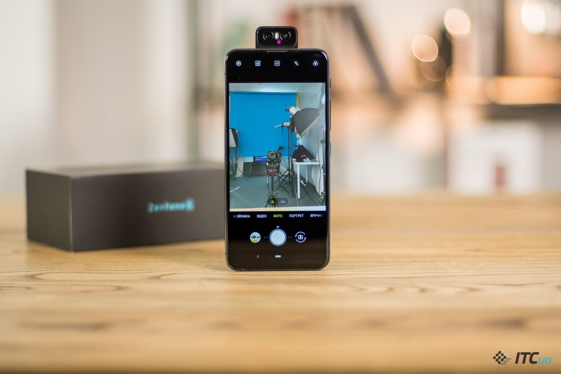 ZenFone 6 фронтальная камера