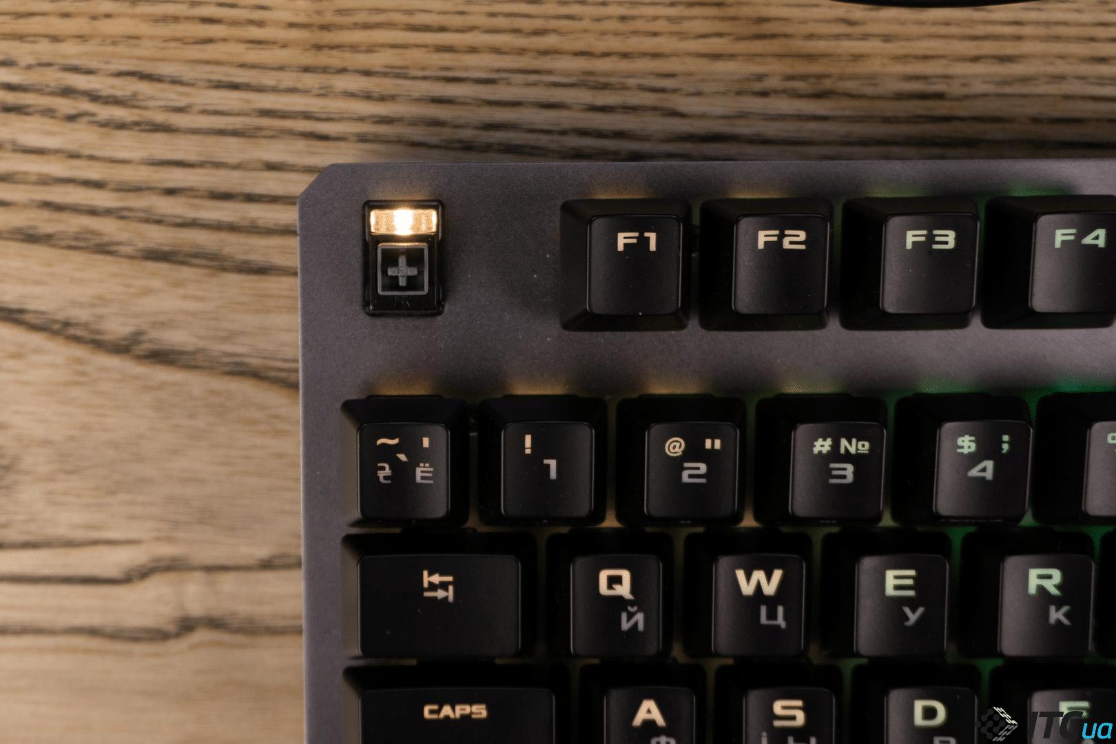 Обзор механической клавиатуры ASUS TUF Gaming K7