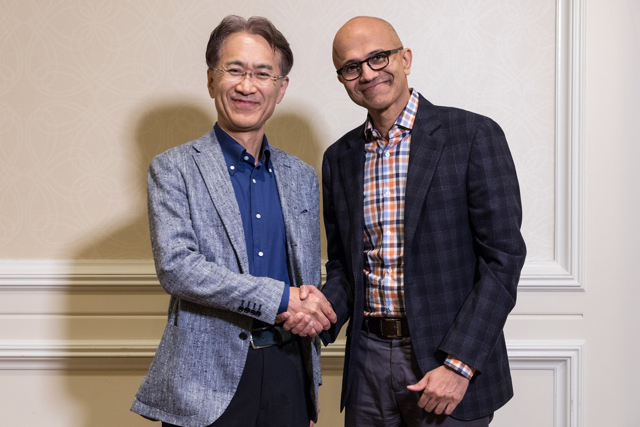Сони иMicrosoft объявили остратегическом партнерстве