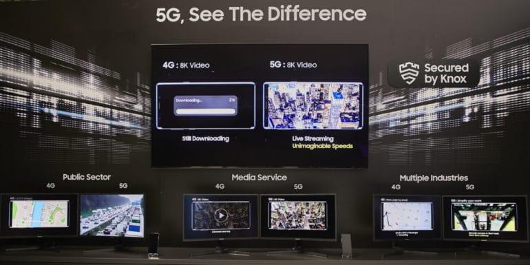 50 лет Samsung 5G