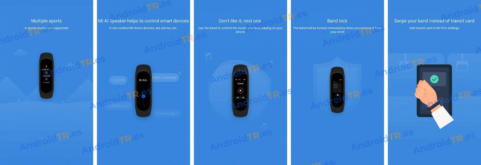 Изображения из руководства пользователя раскрывают особенности нового фитнес-браслета Xiaomi Mi Band 4