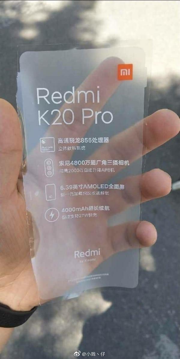 Горячо ожидаемый новый флагман Redmi на SoC Snapdragon 855 засветился на видео без задней крышки. Теперь его называют Redmi K20 Pro