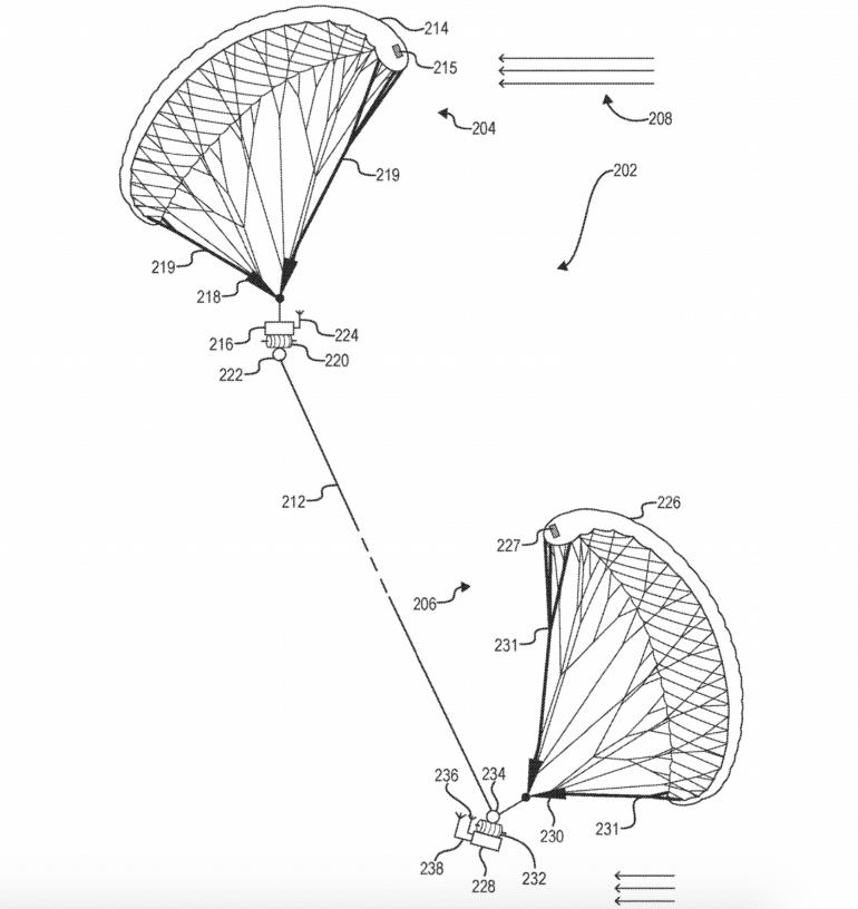 Facebook запатентовала БПЛА с двумя кейтами для длительного парения в воздухе