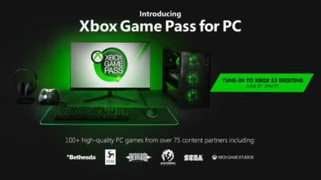 Microsoft представила сервис Xbox Game Pass для ПК, в библиотеку войдут более 100 игр от 75 геймстудий и издателей