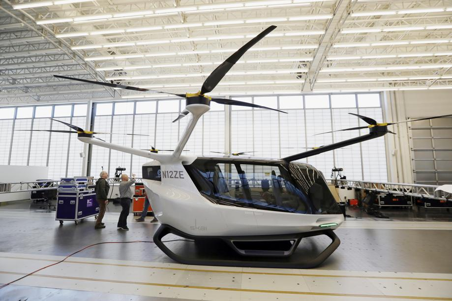 Alaka'i Technologies называет Skai первым летающим такси на водороде