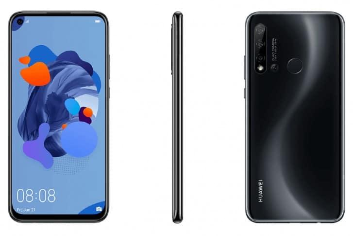 Смартфон Huawei P20 lite 2019 получит отверстие в дисплее для фронтальной камеры и четыре камеры на задней панели