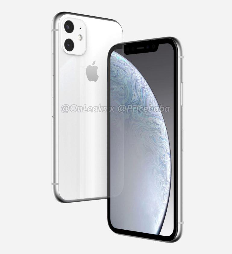 В Сеть выложили первые 3D рендеры смартфона iPhone XR 2019 (ФОТО, ВИДЕО)