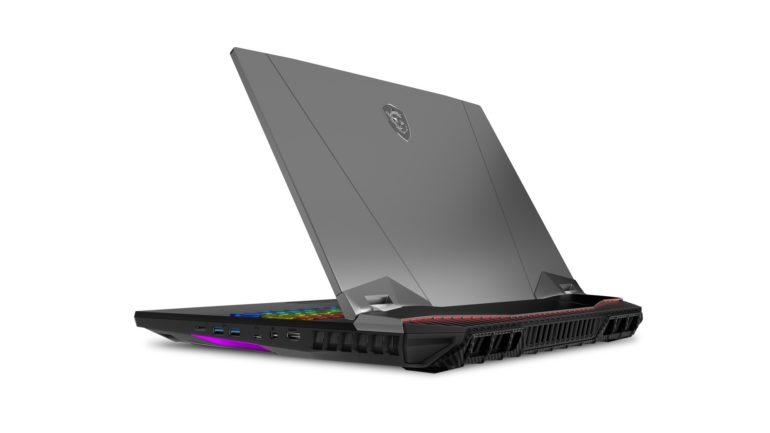 MSI показала новый игровой ноутбук сдесктопным процессором Core i9
