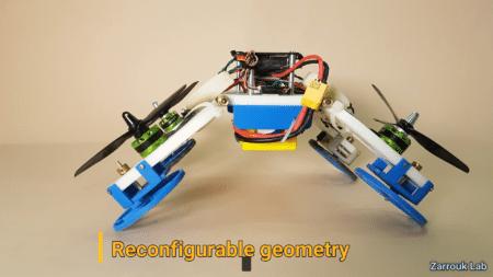Израильские инженеры создали гибрид дрона и колесного робота