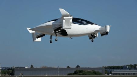 Аэротакси Lilium Jet впервые поднялось в небо