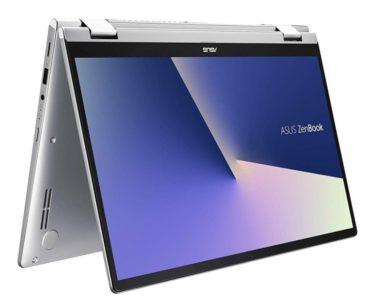Ультрапортативный ноутбук-трансформер ASUS ZenBook Flip 14 получит APU AMD Ryzen 5 3500U и Ryzen 7 3700U