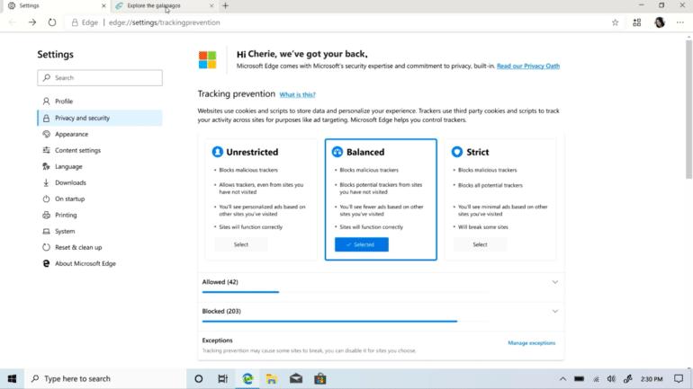 Microsoft официально представила браузер Edge: разработчики выделили три основных новшества