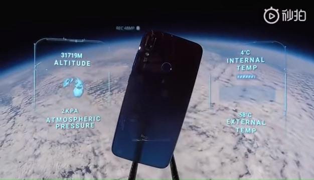 Смартфон Redmi Note 7 поднялся в стратосферу на высоту более 30 км, сделал несколько фото и сохранил работоспособность после падения на Землю