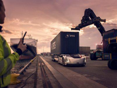 Грузовики без кабины Volvo Vera вскоре начнут выполнять коммерческие рейсы