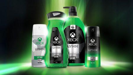 Microsoft и Axe выпустят брендированные гель для душа и дезодорант для Xbox-геймеров