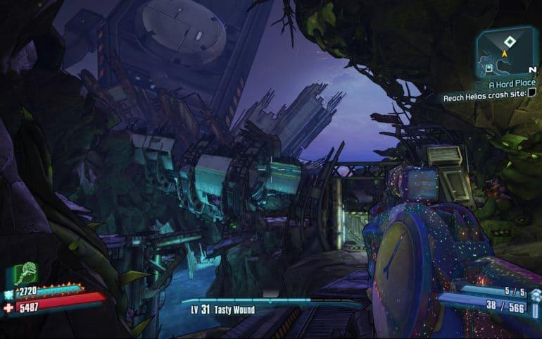Borderlands 2 Crash Sanctuary