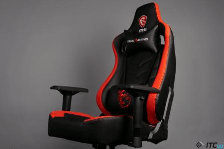Обзор кресла для геймеров MSI MAG CH110