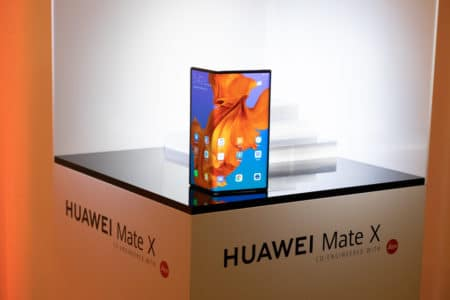 Складной смартфон Huawei Mate X достигает скорость передачи данных более 1 Гбит/с в сетях 5G