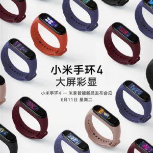 Фитнес-браслет Xiaomi Mi Band 4 появился в продаже на Aliexpress по цене $49,99 за 5 дней до официального анонса