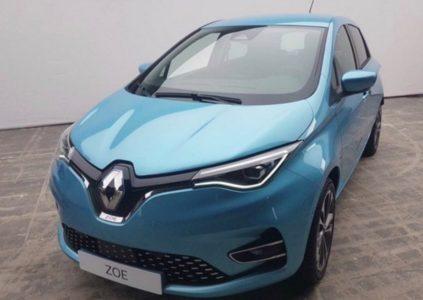 В сети появилось первое «живое» изображение обновленного электромобиля Renault Zoe (2020), анонс ожидается до конца текущего лета