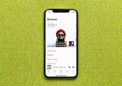 В сервисе Apple Music уже насчитывается более 60 млн подписчиков