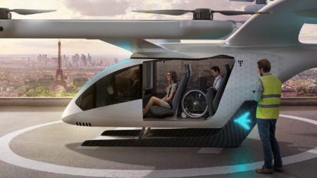 Новая концептуальная модель аэротакси EmbraerX eVTOL демонстрирует безопасность, доступность и автономность